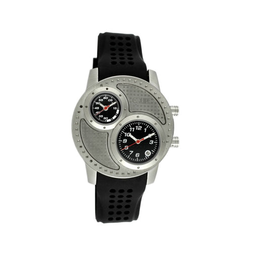 Equipe Octane Mens Two Dial Strap Watch w/ Date - GENT.ONE