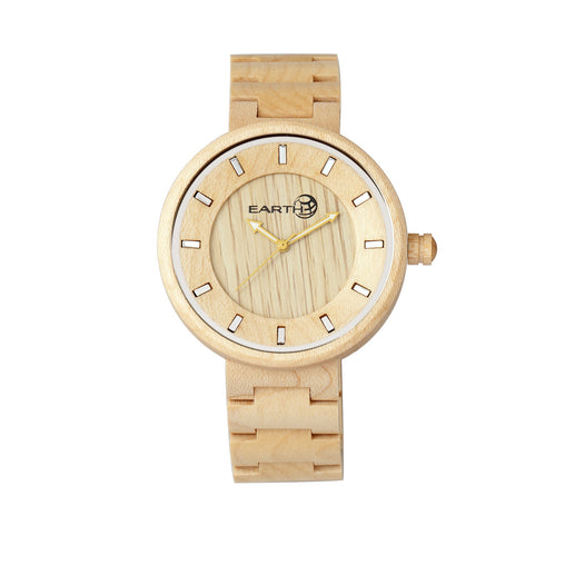 Earth Wood Branch Bracelet Watch - Khaki/Tan