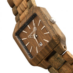 Earth Wood Arapaho Bracelet Watch w/Date - GENT.ONE