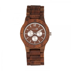 Earth Wood Bonsai Bracelet Watch w/Day/Date - GENT.ONE