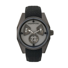 Morphic M34 Series Men's Watch w/ Day/Date - Black/Grey