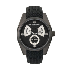 Morphic M34 Series Men's Watch w/ Day/Date - Black/Silver