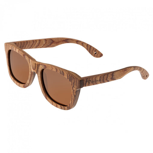 Spectrum Cipes Wood Polarized Sunglasses - Brown/Brown