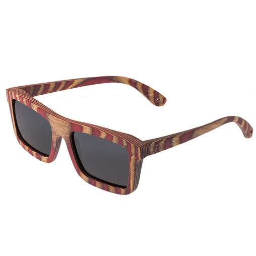 Spectrum Parkinson Wood Polarized Sunglasses - Cherry Zebra/Black