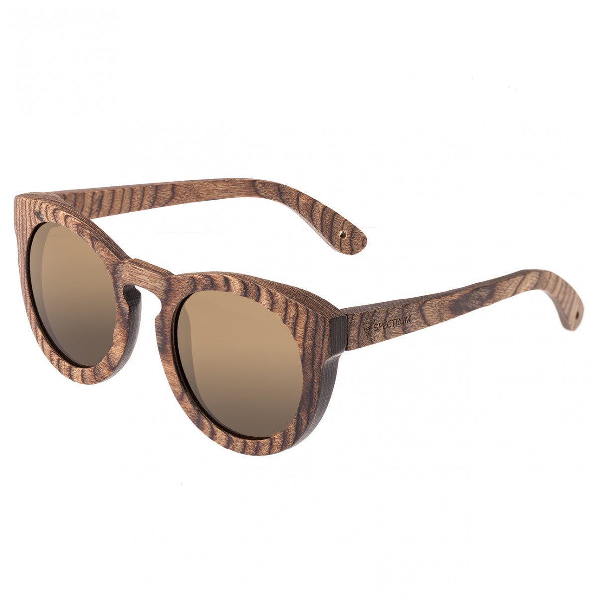 Spectrum Flores Wood Polarized Sunglasses - GENT.ONE
