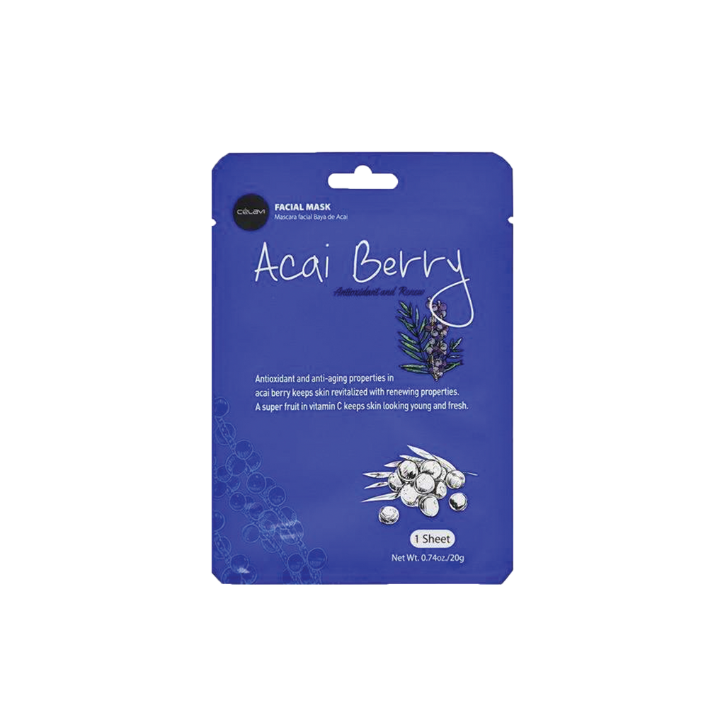 Acai Berry Sheet Mask - The Beauty Zone