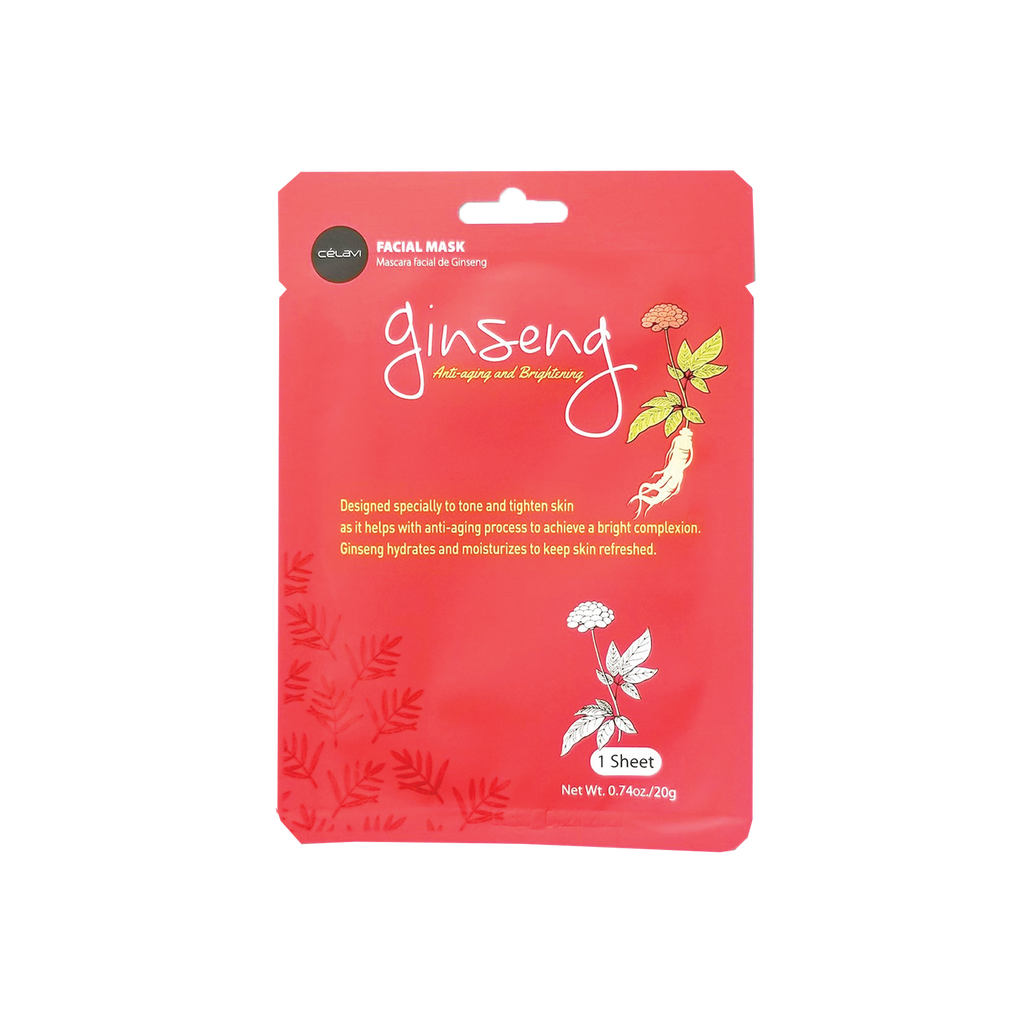 Ginseng Sheet Mask - The Beauty Zone