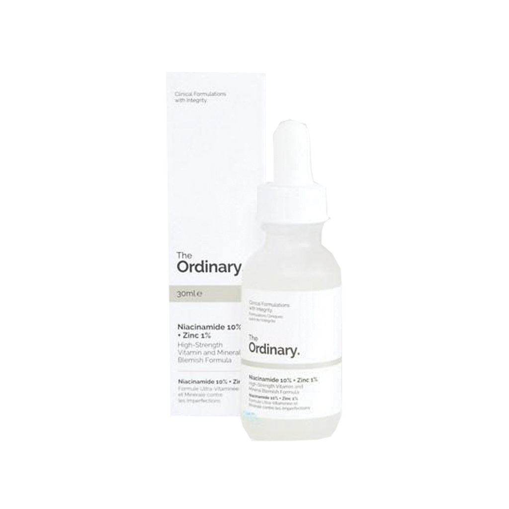 The Ordinary Niacinamide 10% + Zinc 1% - The Beauty Zone