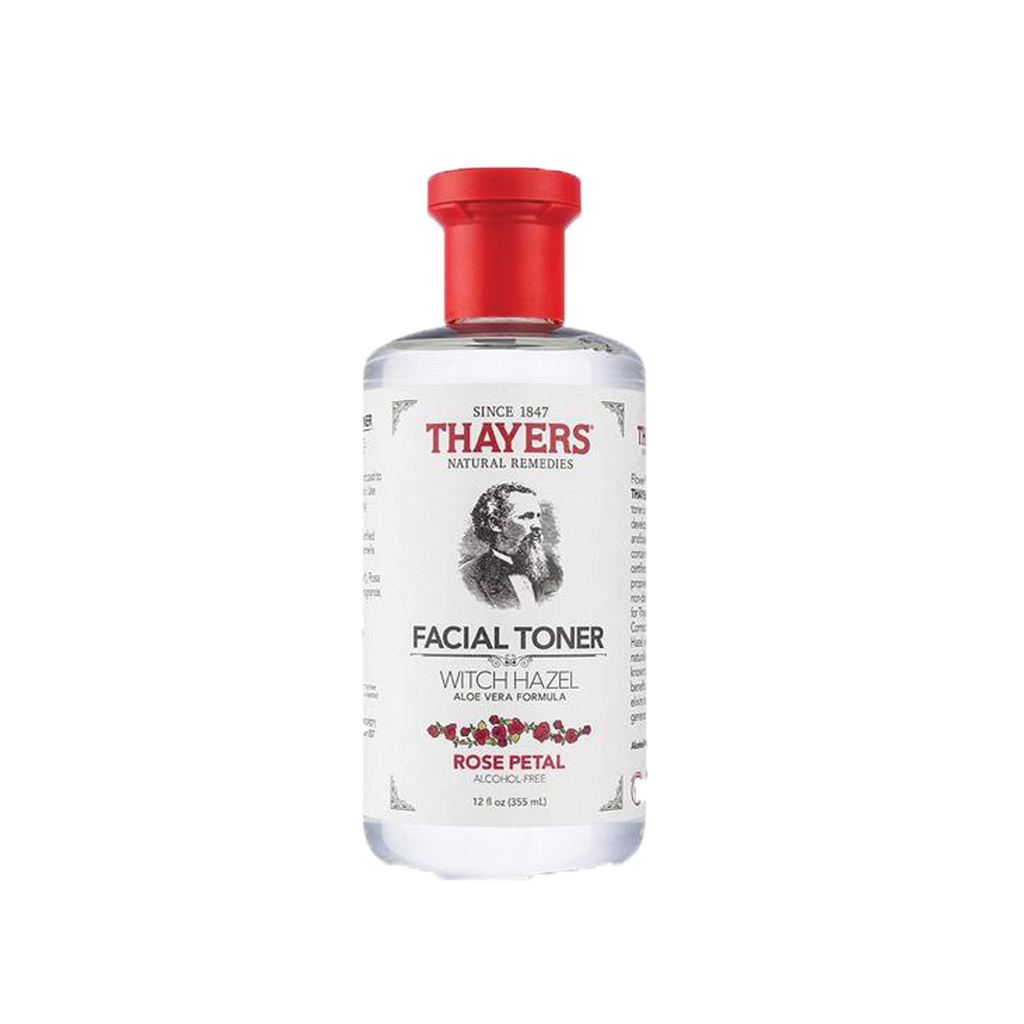 Rose Petal Witch Hazel Facial Toner - The Beauty Zone