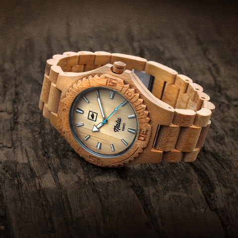 NALU ORIGINAL - Carbonised Bamboo Watch