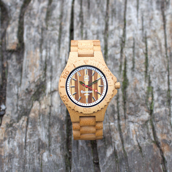 RAMBLER ORIGINAL - Tiger Bamboo Watch