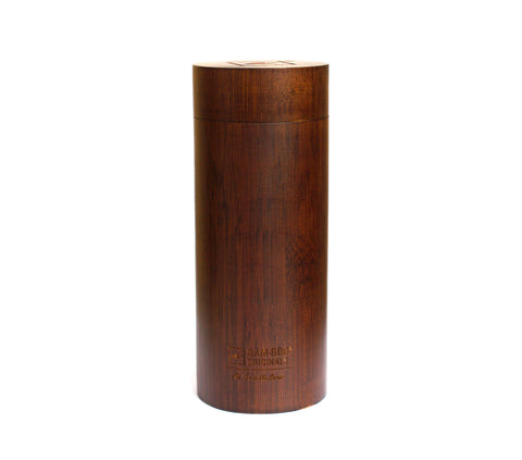 BAMBOO SUNGLASSES CASE - CYLINDER TUBE