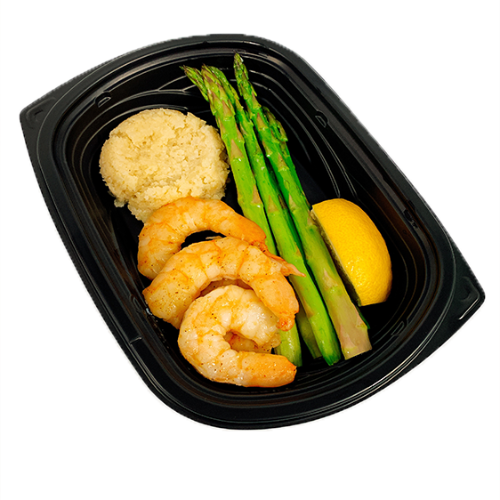 Broiled Shrimp - Low Carb - Naked Chef Meal Prep