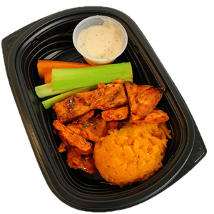 Buffalo Chicken & Sweet Potato - Naked Chef Meal Prep
