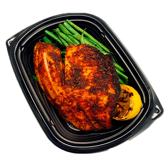 Blackened Tilapia - Low Carb - Naked Chef Meal Prep