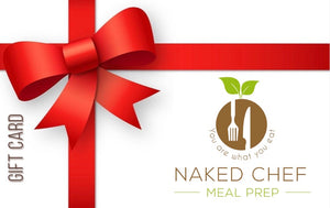 Gift Card - Naked Chef Meal Prep