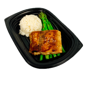 Teriyaki Salmon - Naked Chef Meal Prep