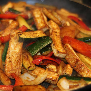 Fajita Tofu - Naked Chef Meal Prep