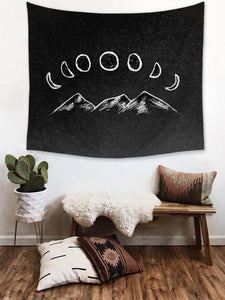 Moon & Hills Tapestry