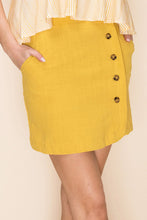 Load image into Gallery viewer, Mustard Yellow Skirt