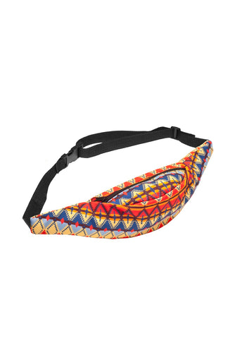 Colorful Tribal Printed Fanny Pack