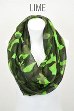 Load image into Gallery viewer, Camouflage Infinity Scarf