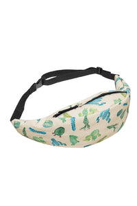 Cactus Yellow Printed Fanny Pack
