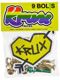 Krux Gold and Green Hardware