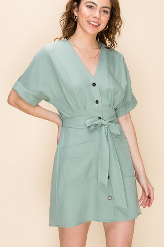 Soft Mint Green Dress