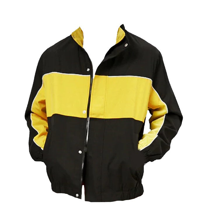 Hysteria 90s Yellow and Black Jacket