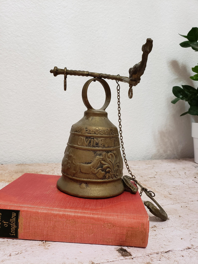 Vintage Brass Monastery Bell