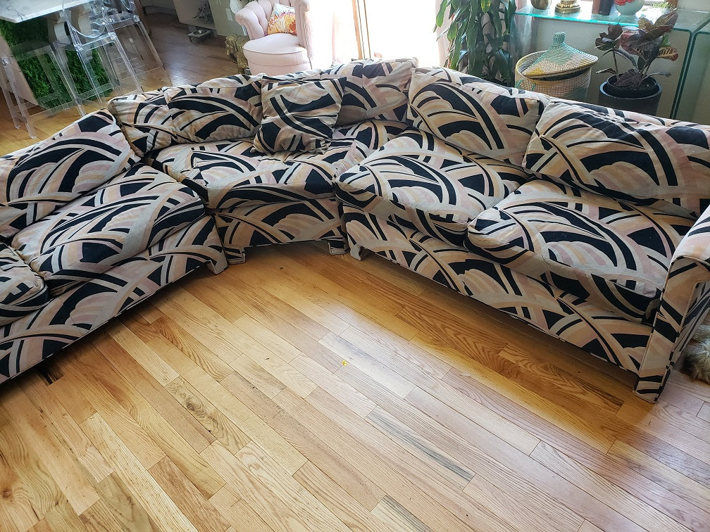 Vintage Erwin Lambeth Sectional Sofa