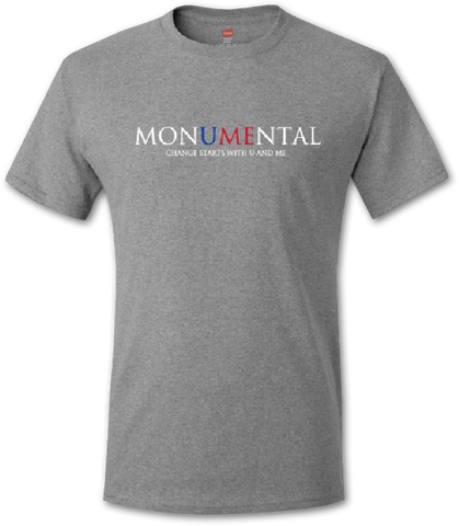 Monumental Gray T-Shirt