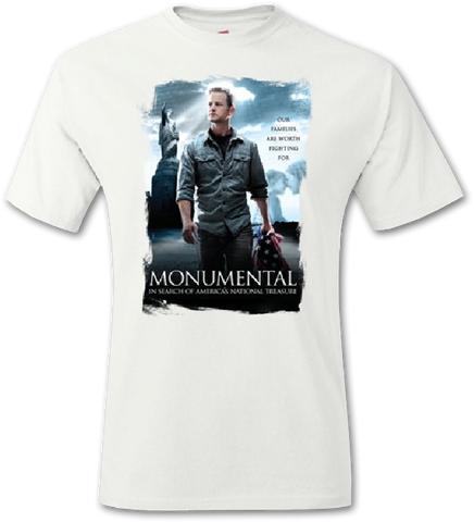 Monumental White T-Shirt