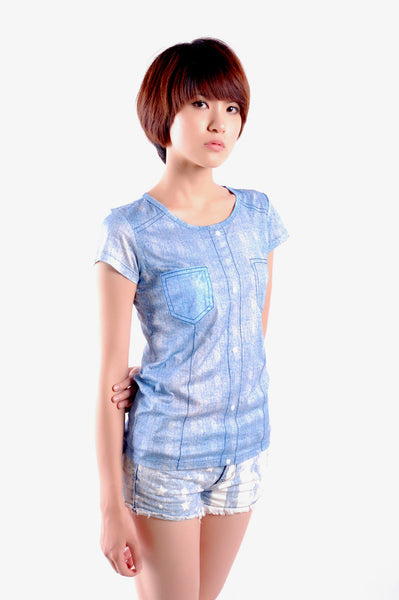 T-shirt - Jeans Style