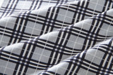 英倫風灰色格仔 B——British Chequer Grey B
