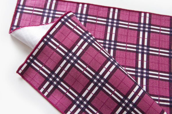 英倫風紅色格仔 B——British Chequer Red B