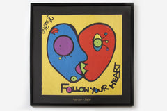 Limited Edition 随心而行——Follow Your Heart (70x70cm)