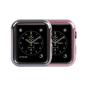 2 Pack Bumper Case for Apple Watch