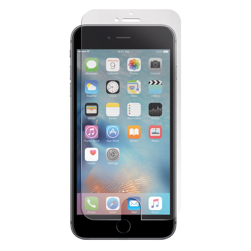 X Scratch Resist Tempered Glass Screen Protector For Iphone  Plus  S  Se S