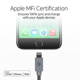 MFI charge & sync cable