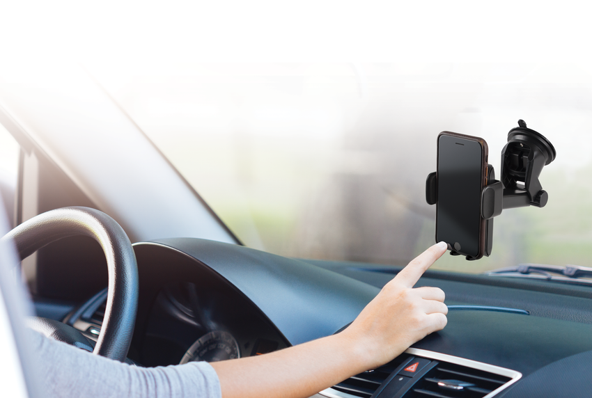 Car Phone Mount with Extendable Arm