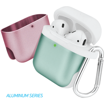 AirPods® Dual Color Case Aluminum Series