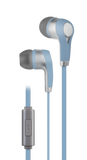 In-ear earbuds with microphone