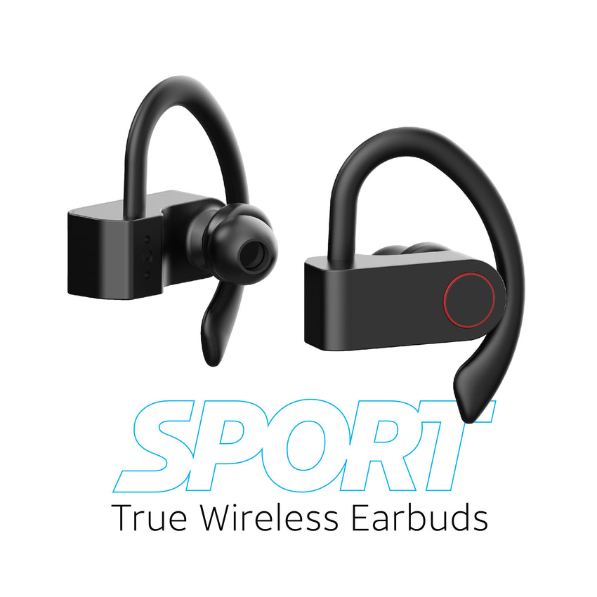 Sport True Wireless Mini Bluetooth® Stereo Earbuds
