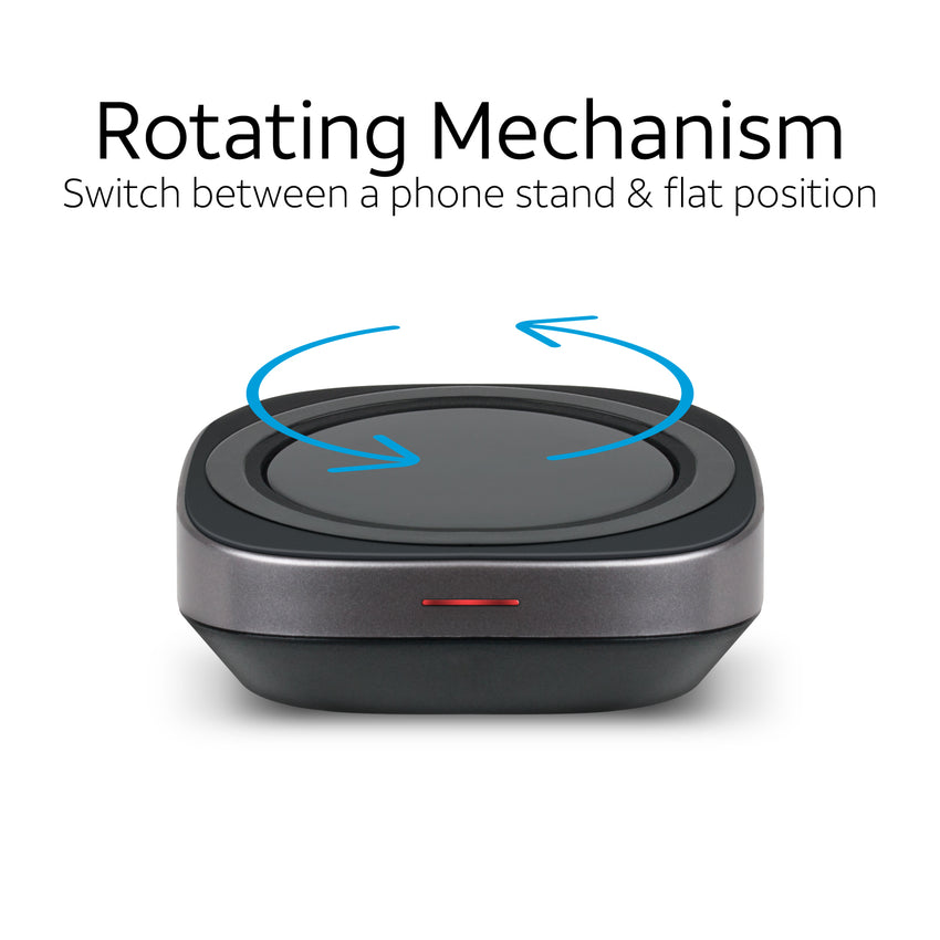 Wireless Charging Pad with Dual Positions