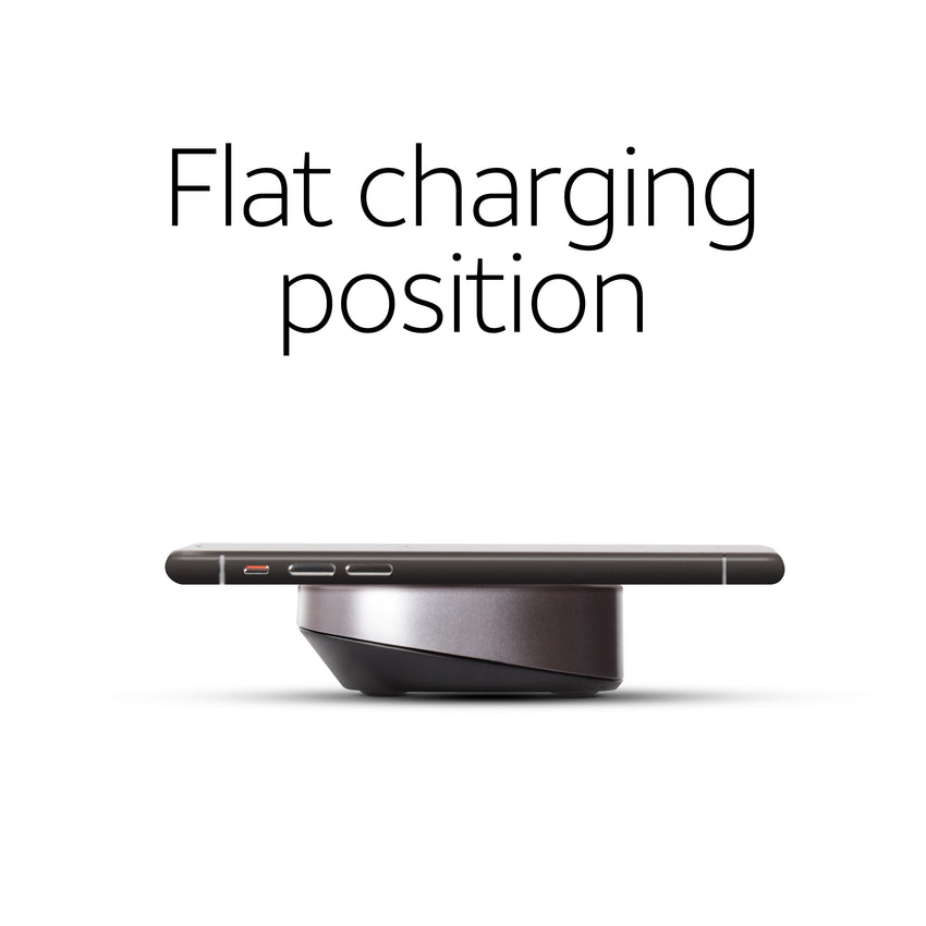 WC100 flat charging position