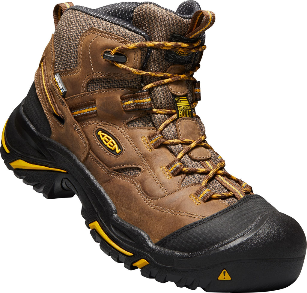 Braddock Brown Waterproof Steel Toe
