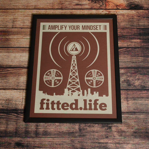Amplify Your Mindset Print