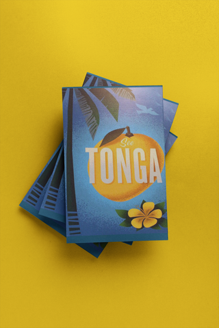 Tonga - Post Card